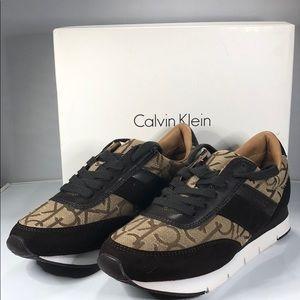 [169] Calvin Klein Marinda Black Nappa/Shiny 10 M